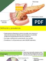 Pancreatitis Crónica y Trauma Pancreático