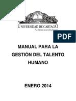 Manual para Gestión del talento humano