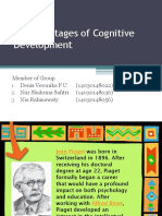 Piaget's Stages of Cognitive Development
