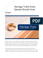 10 Basic Marriage Truths Every Christian Spouse Should Know