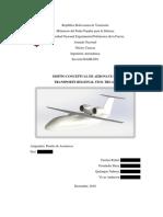 Diseño Conceptual de Una Aeronave de Transporte Regional Stol - TRS-420