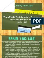 rizal journey