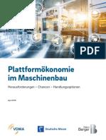 RB PUB 18 009 VDMA Plattformoekonomie