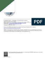 Relación forma y contenido en la clasificación cerámica