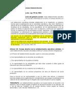 Normas Organos Funciones Gobierno Escolar V2016