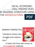 Literary Perspectives
