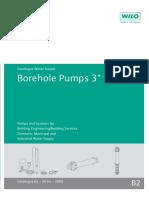 B2-Borehole Pumps - 2009