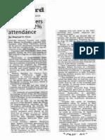 Manila Standard, Oct. 16, 2019, House leaders chalk up 82% attendance.pdf