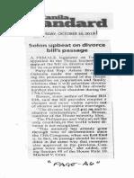 Manila Standard, Oct. 16, 2019, Solon upbeat on divorce bills passage.pdf