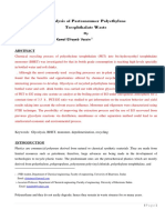 Glycolysis of Postconsumer Polyethylene