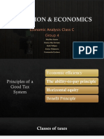 Taxation & Economics Presentation