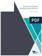 Local Government Rating Review discussion paper