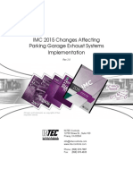 IMC Evolution and Changes for Parking Garages Demand Controlled Ventilation