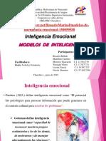Modelos de Inteligencia Emocional
