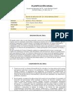 Planificacion Anual 2do, Basic. g