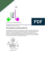 Manómetro diferencial