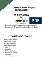 Amit Antenna Basics Fdp
