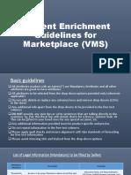 Content Enrichment for Marketplace (VMS) (1)
