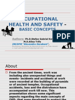 Occupational Health and Safetybasic Conceptsfw 160215093907