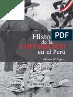 Historia de La Corrupción en El Perú - Alfonso W. Quir0z