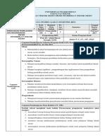 RPS Perencanaan Pembelajarani PTM 2019