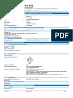 SDS of Tartaric Acid