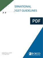 International Vat Gst Guidelines