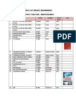 Price List Buku Rekam Medis