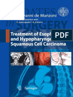 1(Updates in Surgery) Giuseppe Verlato, Giovanni de Manzoni (Auth.), Giovanni de Manzoni (Eds.) - Treatment of Esophageal and Hypopharyngeal Squamous Cell Carcinoma-Springer-Verlag Mailand (2012)