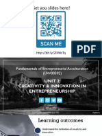 APK English Unit 2 - Creativity & Innovation 160919