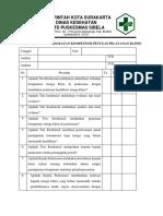 Dl Peningkatan Kompetensi Petugas Pelayanan Klinis