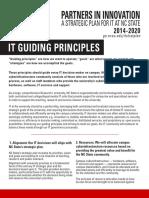 IT Guiding Principles - One Sheet