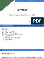 Seminar 1- RFID