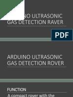 Arduino Ultrasonic Gas Detection Raver