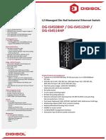 Digisol  switch data sheet