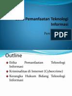 Etika PemanfaatanTeknologi Informasi