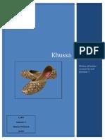 Pakistani khussa