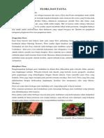 Kliping Flora Dan Fauna Gambar Dan Penjelasan