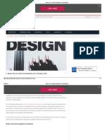 Bases de Un Estilo Minimalista en El Diseño Web
