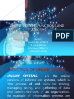 Online Systemsfunctionsand Platforms Edited