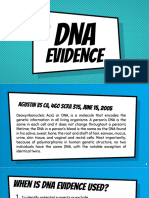 DNA Evidence Report