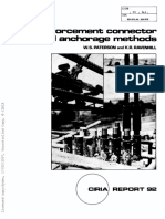 CIRIA 92-1981- Reinforcement Connectors and Anchorages