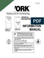 York P3HU/P3DN User's Information Manual
