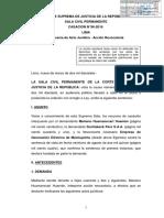 CASACION N° 96-2016 - ACCION PAULIANA