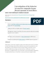 composite - steel fibers - journal 2.docx