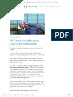 76 Frases en Inglés Para Viajar Que Todos Los Viajeros Deben Conocer _ FluentU Inglés