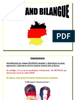 Allemand Bilangue