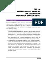 Bab. 4 - Analisis Sosek & Lingk. Kab. Babar - Akhir