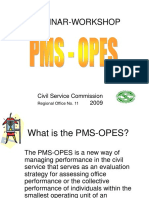 PMS Workshop