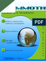 Math Mammoth Grade 4 Worktext